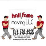Hall of Fame Moving LLC Moving Company Logo